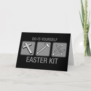 Anti easter gifts on zazzle ca do it yourself easter kit christmas card solutioingenieria Gallery