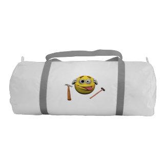 Do it yourself emoticon gym bag