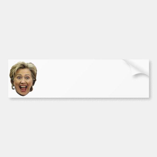 Do It Yourself Hillary Bumper Sticker