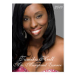 Do-It-Yourself Pageant Headshot | Autograph Card Post Cards