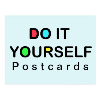 DO IT YOURSELF - Postcard Christmas
