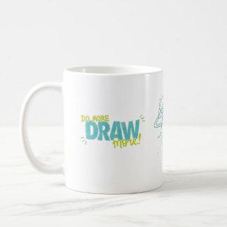 Do More, Draw More Coffee Mug