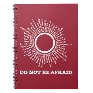 Do Not Be Afraid Scripture Promises Notebooks
