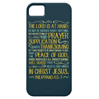 Do Not Be Anxious - Philippians 4:5-7 Case For The iPhone 5