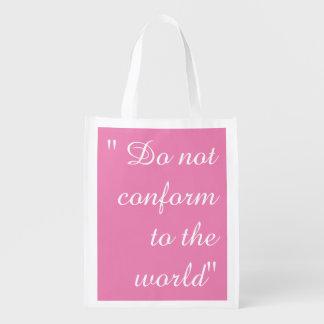 Do Not Conform Bag Reusable Grocery Bag