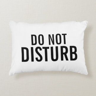 """Do Not Disturb"" Decorative Pillow"