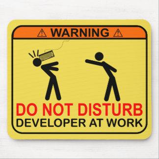 DO NOT DISTURB - DEVELOPER MOUSE PAD