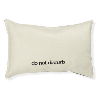 Do Not Disturb Dog and Cat Bed