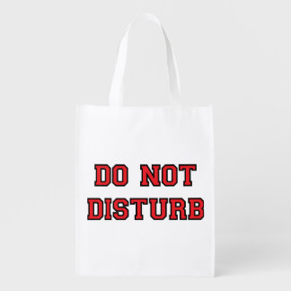 Do Not Disturb Grocery Bags