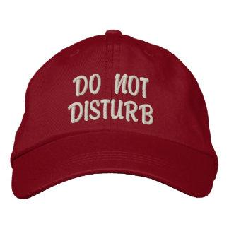 'Do Not Disturb' Gym Hat