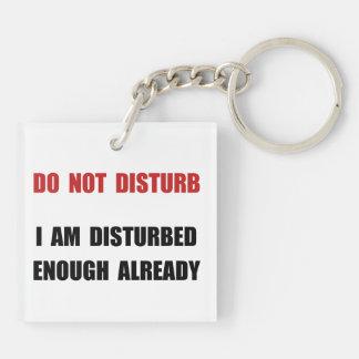 Do Not Disturb Keychain