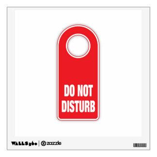 Do Not Disturb Wall Sticker
