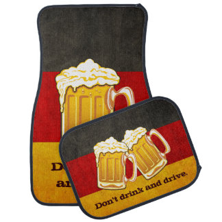 DO NOT Drink and Drive - Oktoberfest Beer Party Car Carpet