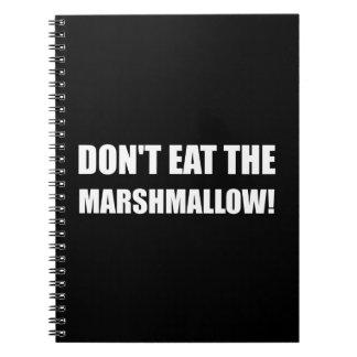 Do Not Eat Marshmallow Test Notebooks