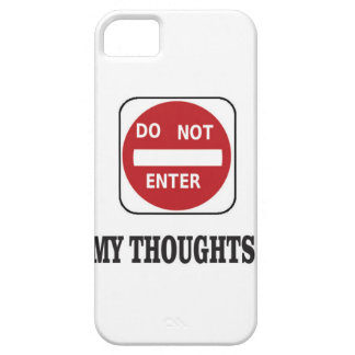 do not enter right now case for the iPhone 5