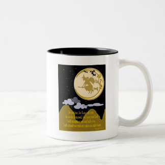 Do Not Fear - Isaiah 41:10 Two-Tone Coffee Mug