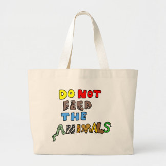 Do Not Feed the Animals Tote Bags