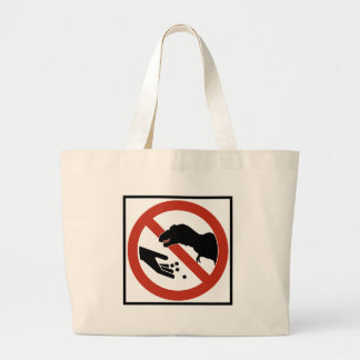 Do Not Feed the T-Rex Canvas Bags