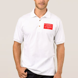 Do Not Feed The Tax Preparers Polo Shirt