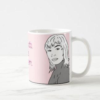 DO NOT get a breast monogram Mug