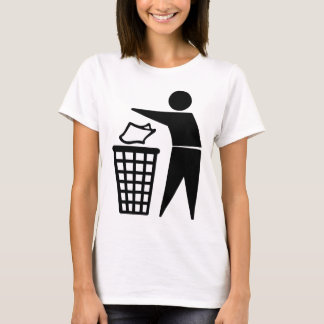Do Not Litter Symbol T-Shirt