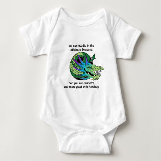 Do Not Meddle in the Affairs of Dragons Baby Bodysuit