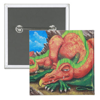 Do Not Meddle in the Affairs of Dragons 2 Inch Square Button