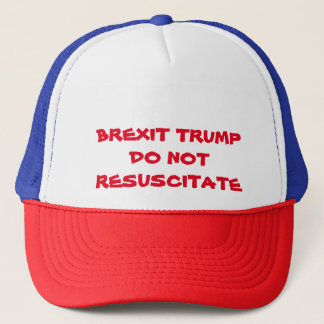 Do Not Resuscitate Trucker Hat