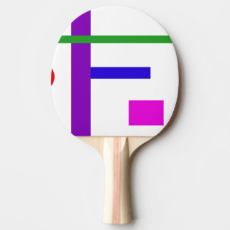 Do Not Say Anything Because Ping Pong Paddle