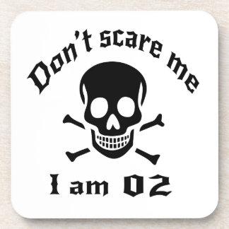 Do Not Scare Me I Am 02 Coaster