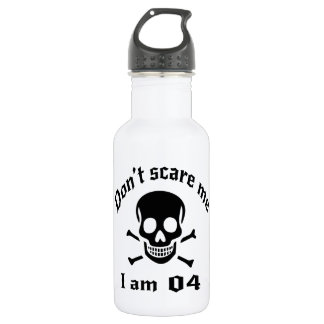 Do Not Scare Me I Am 04 532 Ml Water Bottle