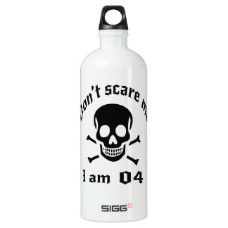 Do Not Scare Me I Am 04 Water Bottle