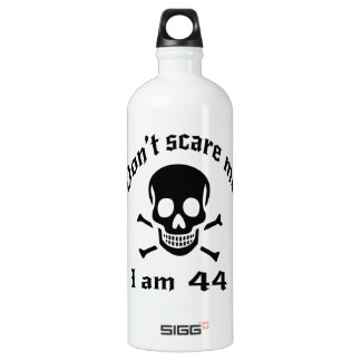 Do Not Scare Me I Am 44 Water Bottle