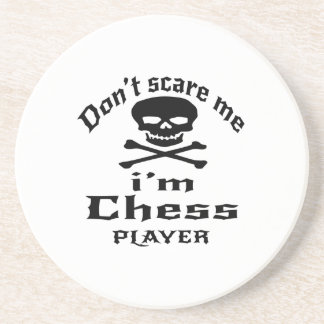 Do Not Scare Me I Am Chess Player Coaster