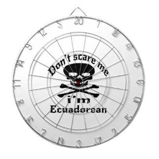 Do Not Scare Me I Am Ecuadorean Dart Boards