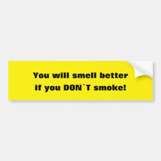 Do Not Smoke - Bumper sticker