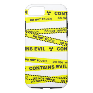 Do not touch. Contains evil. iPhone 7 Case