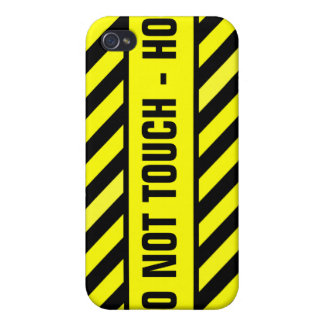 DO NOT TOUCH - HOT CASE FOR iPhone 4