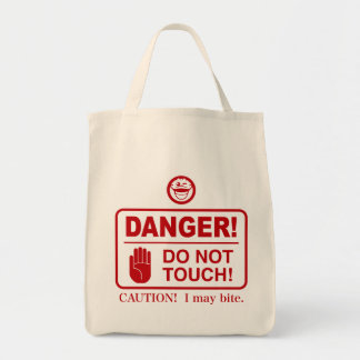 DO NOT TOUCH! TOTE BAG