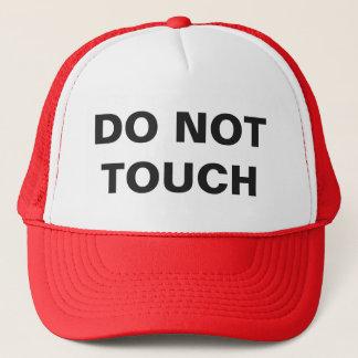 DO NOT TOUCH TRUCKER HAT