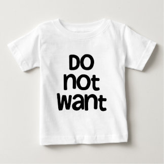 Do Not Want Shirts
