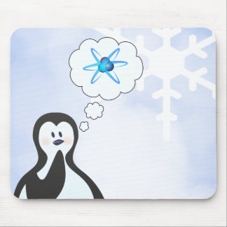 Do penguins dream of nuclear physics? mouse pad