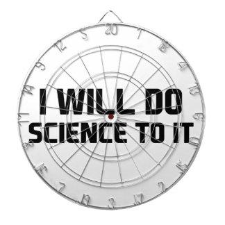 Do Science To It Dartboard