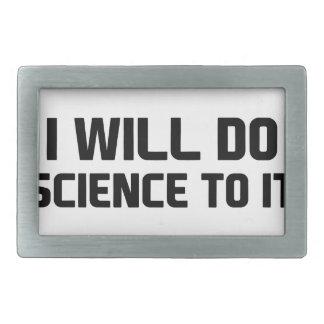 Do Science To It Rectangular Belt Buckle