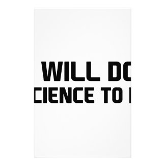 Do Science To It Stationery