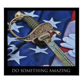 Do Something Amazing Poster