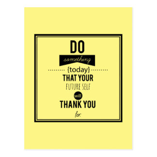 Do Something Decorative Typography Art Calligraphy Postcard