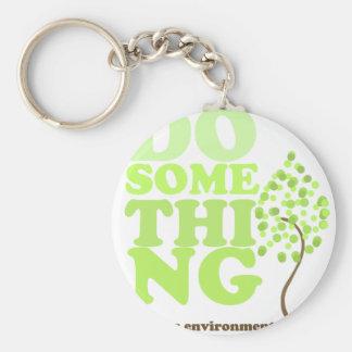 Do Something Keychain