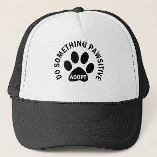 Do Something Pawsitive Adopt Trucker Hat