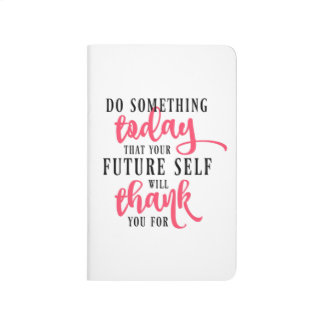 Do Something Today Inspirational Journal